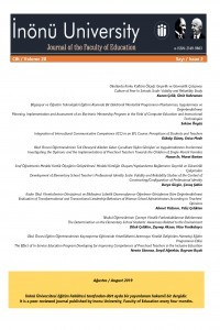 Inonu University Journal of the Faculty of Education