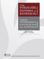 Turkish Psychological Counseling and Guidance Journal